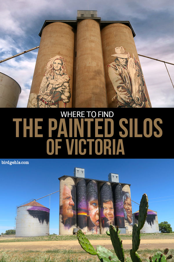 Here is a guide to the location of the painted silos in Victoria, Australia - the six that make up the Silo Art Trail as well as others that are springing up around the state. These silos make for an excellent stopping point on any road trip, or you can plan one around them, with other points of interests along the way. / Things to do in #Victoria / #SiloArtTrail / Unique things to do in Australia / Public art in Australia /