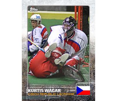 Kurtis Wagar TOPPS 2015 (WILC2011)