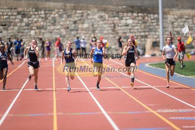 D2 Girls' 100 Meters Final - 2014 MHSAA LP T&F Finals