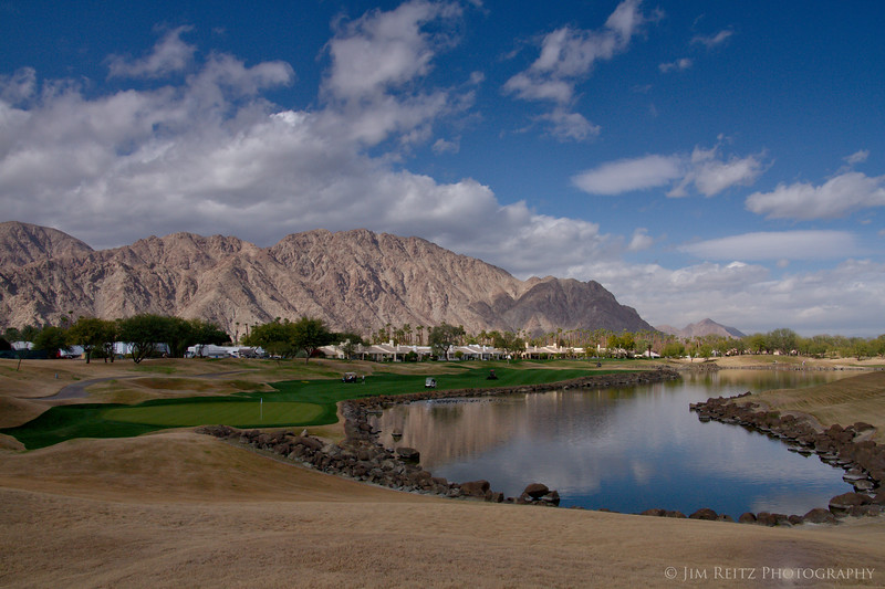 18th hole - TPC Stadium Course, PGA West, La Quinta, CA