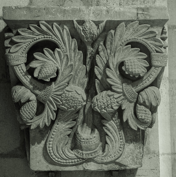 Autun, Saint Lazarus Cathedral Capital, Acanthus Leaves