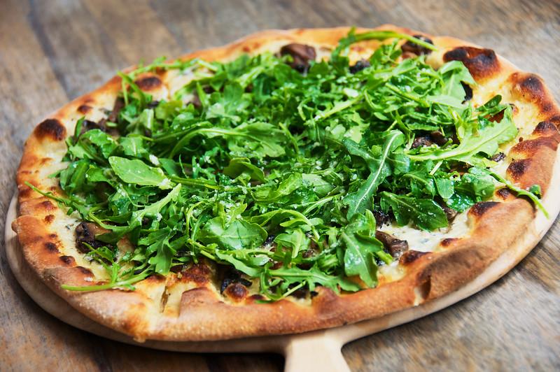 Porcini & Arugula Pizza