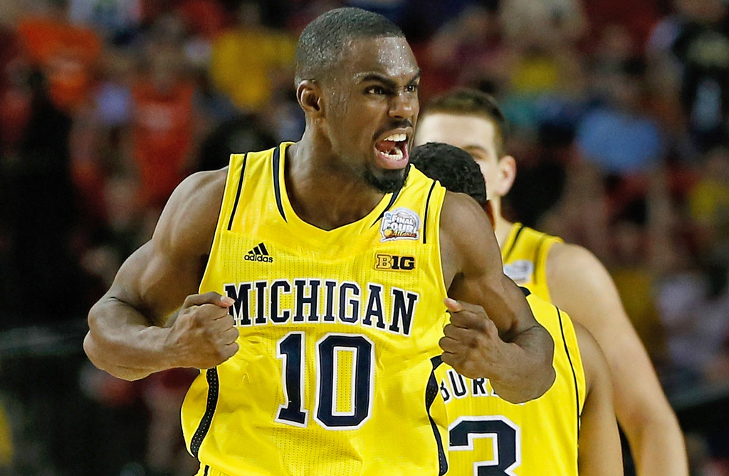 . 19. Cleveland Cavaliers -- Tim Hardaway Jr., shooting guard, Michigan -- The Cavaliers would probably pick Karasev if he�s available, but Hardaway is one of the best shooters in the draft, so he could help fill a need.  (Photo by Kevin C. Cox/Getty Images)