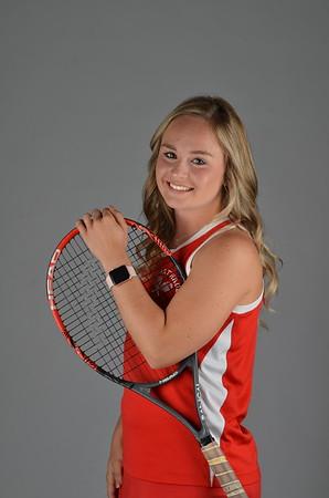 Girls Tennis Portraits