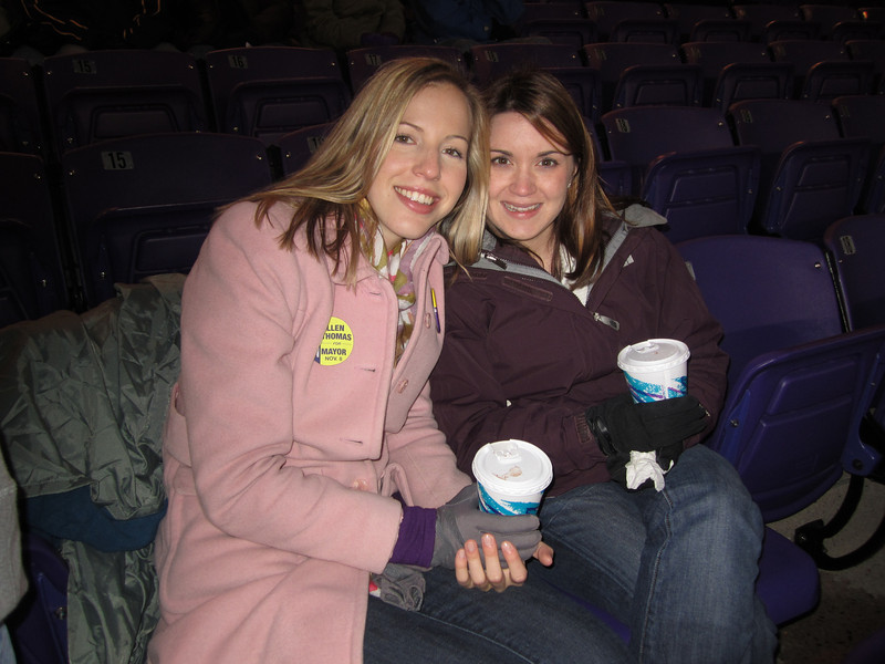 10/29/2011 ECU vs. Tulane (Homecoming) - Erin Acree, Heather Webster