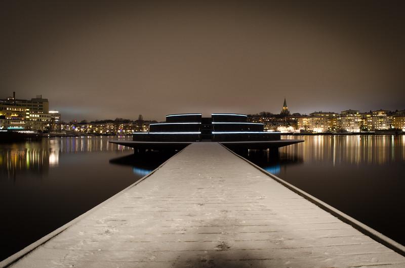 Pier In Hammarby Sjöstad