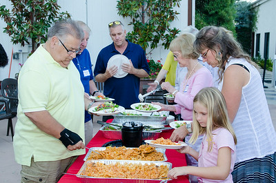 Rancho Volunteer Appreciation Dinner 7-24-2014