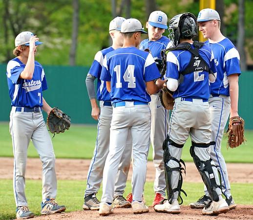 Eastern baseball huddle