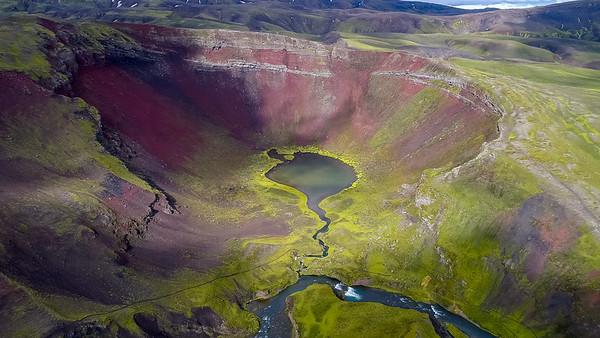 Hólmsárlón og Rauðibotn