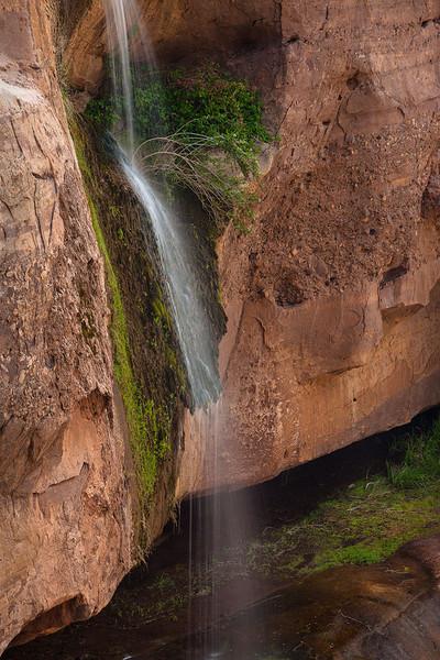 Tar Creek Mini Waterfall Sespe Wilderness