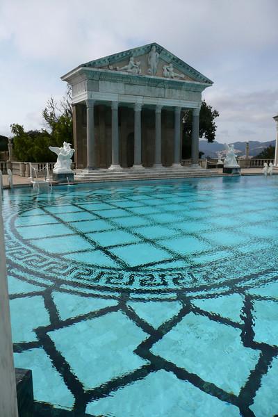 Neptune Pool. Hearst Castle