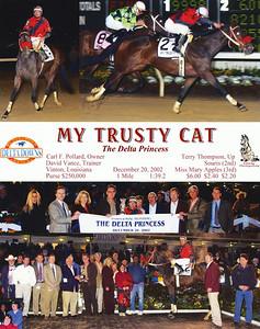 MY TRUSTY CAT - 12/20/2002