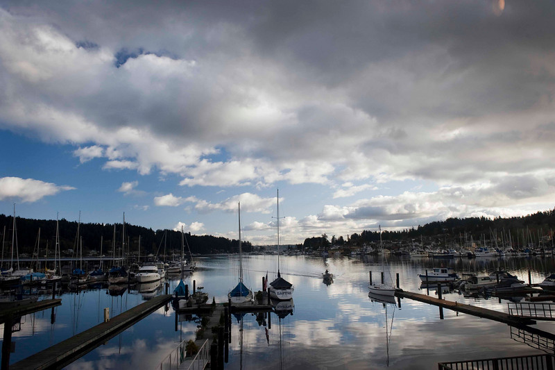 Gig Harbor - the view at lunch over some of the best clam chowder ever.
