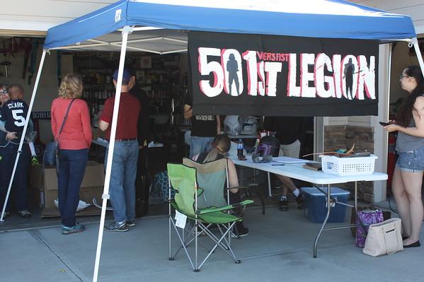 Marshall Meets 501st Legion