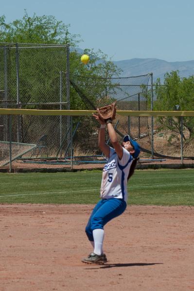 St Mary's vs BHS, Softball, 4/28/2012