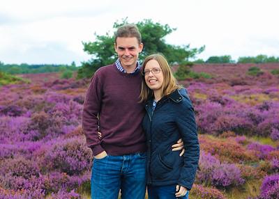 Anna & Chris, Westleton Heath