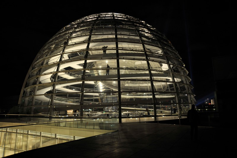 The Reichstag Dome, Berlin.