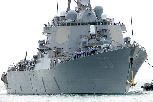 USS Paul Hamilton at Townsville port