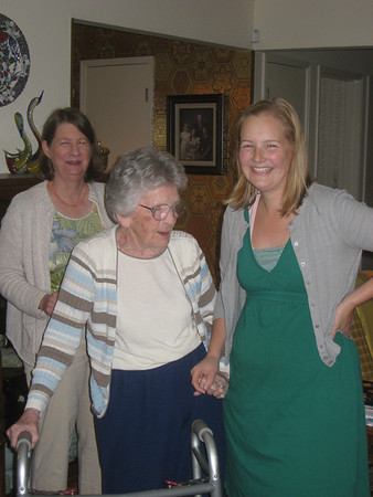Grandma's 93rd Birthday, October 2011