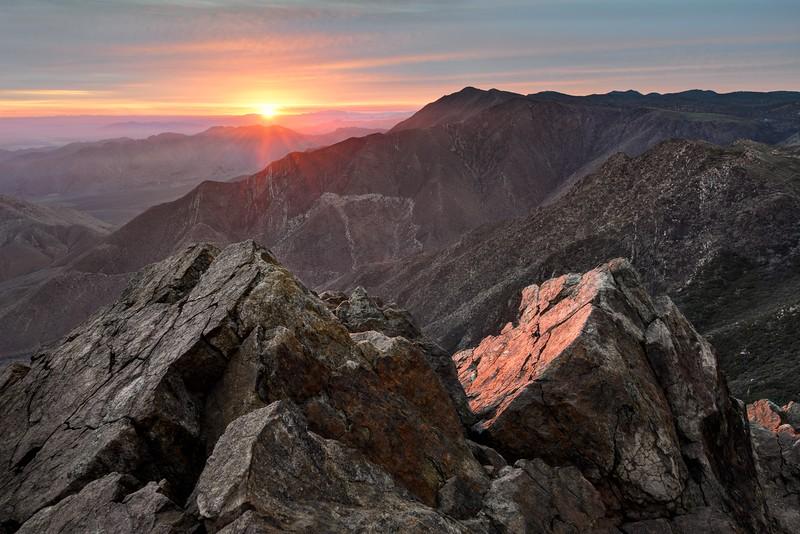 (2014-December 15-16)  Garnet Peak Sunrise and Kofa NWR