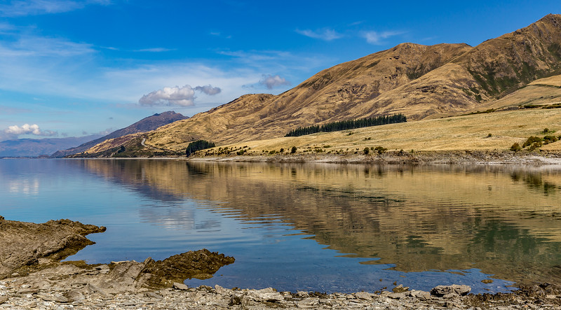 «Bottom Bay» am «Lake Hawea»