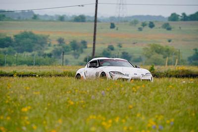 90 White Toyota Supra