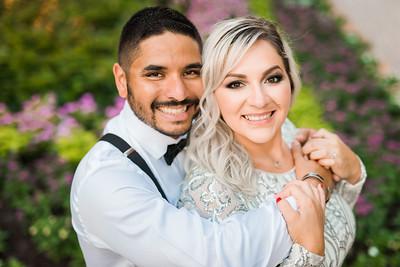 Crystal & Luis Engagement Portraits