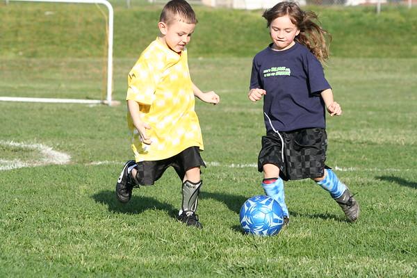 Riverside Soccer  Practice - 3/30/07