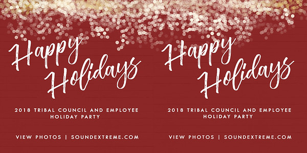 Tuolumne Me-Wuk Tribal Council Holiday Party 2018