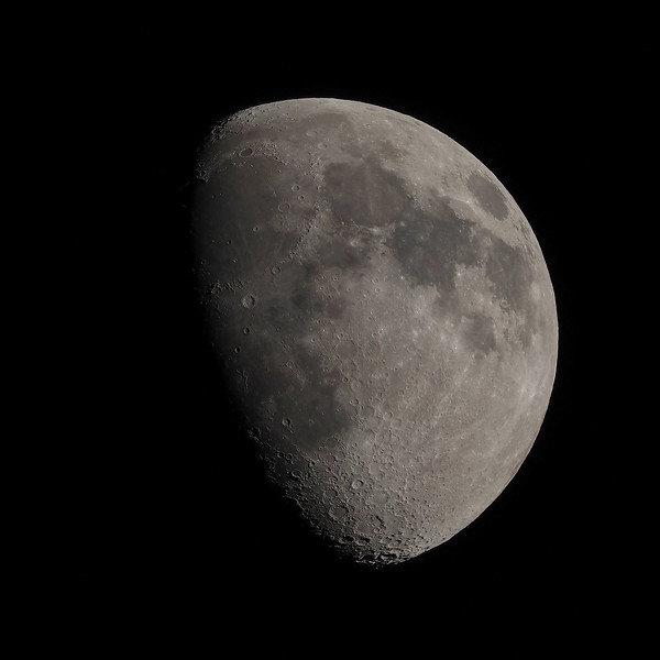 73% waxing gibbous moon
