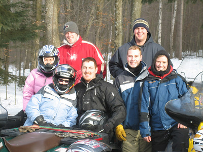PAUL & FRIENDS TO CABIN 1-26-07