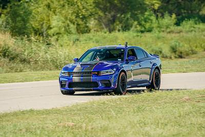 Blue/Black Dodge Charger