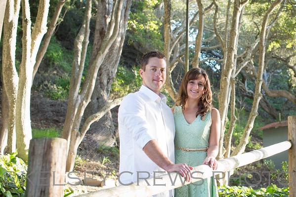 Joe + Audrey Hope Ranch Beach Engagement Session