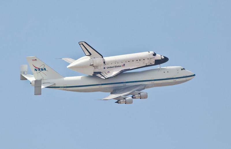 Shuttle Endeavour Tucson September 2012