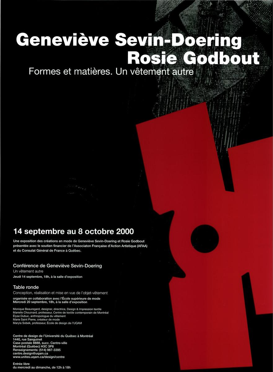 2000 - Exposition - Geneviève Sevin-Doering Rosie Godbout
