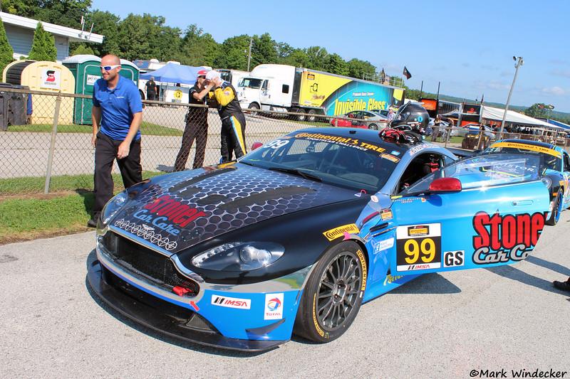 GS Automatic Racing Aston Martin Vantage