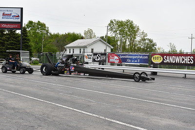 Top Dragster and Top Sportsman Staging Lanes