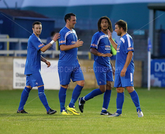 CHIPPENHAM TOWN V WESTON SUPER MARE MATCH PICTURES PRE-SEASON 30TH JULY 2015