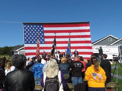 Army SPC Matt Leyva Home Dedication