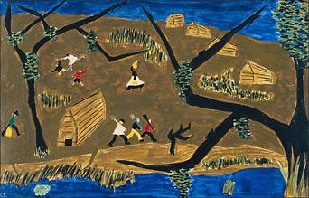 """Jacob Lawrence, """"The Life of Frederick Douglass No. 1"""" (1939)"""