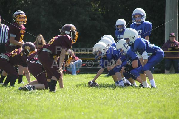 6th and 8th grade fball v. stockton . 9.6.14