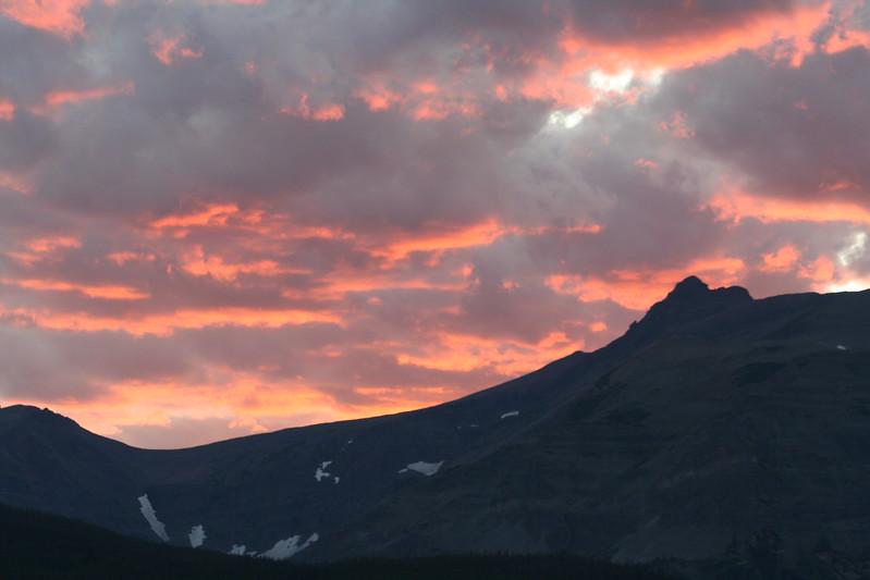 20110825 - 011 - GNP - Sunset From Glacier Park Lodge.JPG
