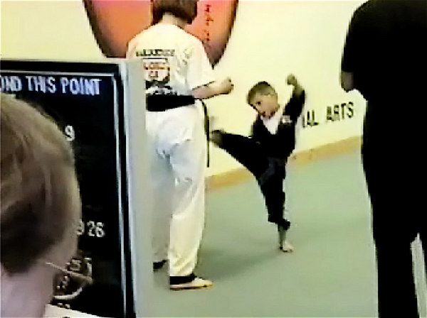Kyle - Green Belt Test