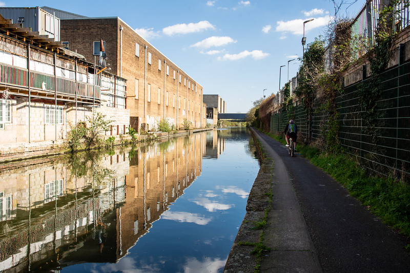 Grand Union Canal in Acton