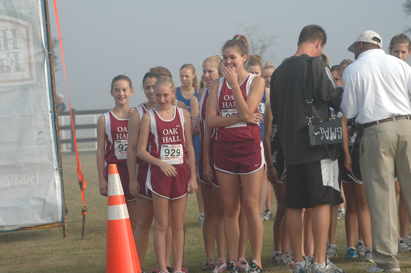 Oak Hall's girls. It'll be weird without Stevie Uribe at the start line of any more HS XC events. Get that foot taken care of, ok Stevie? We want to see that devastating kick at the end of another track 800/1600m!