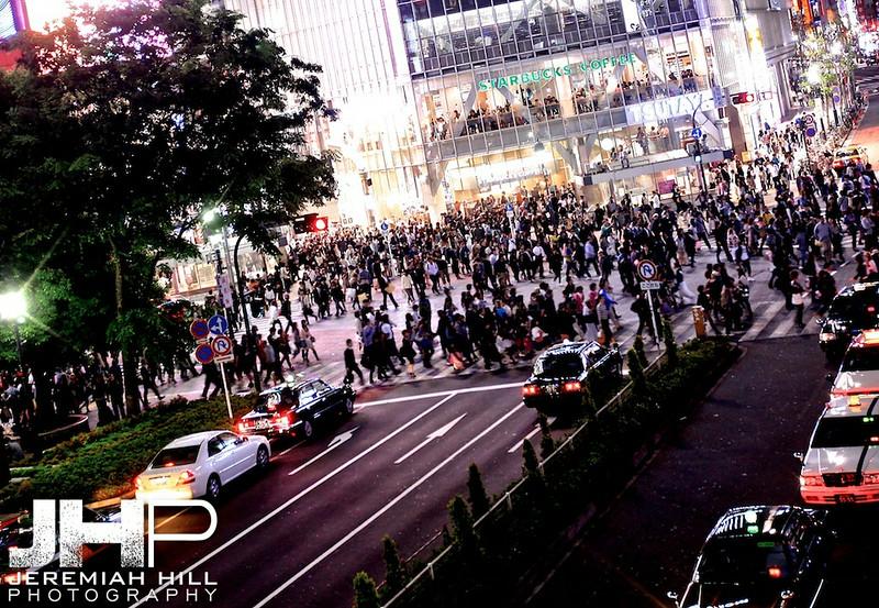 """Shibuya Crossing #3"", Tokyo, Japan, 2010 Print JAP16-1893"