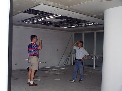 19990519 商學大樓辦公室施工