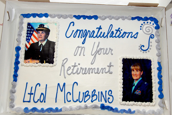 "MaryAlice""s Retirement from USAF"