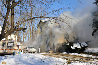 181 Mine Hill Rd Dwelling Fire