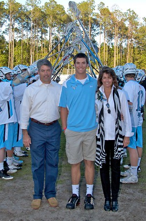 Ponte Vedra Sharks Lacrosse Senior Recognition Day vs Nease 4-6-2011